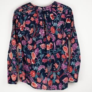 Lucky Brand Tops - Lucky Brand Floral Peasant Blouse Small